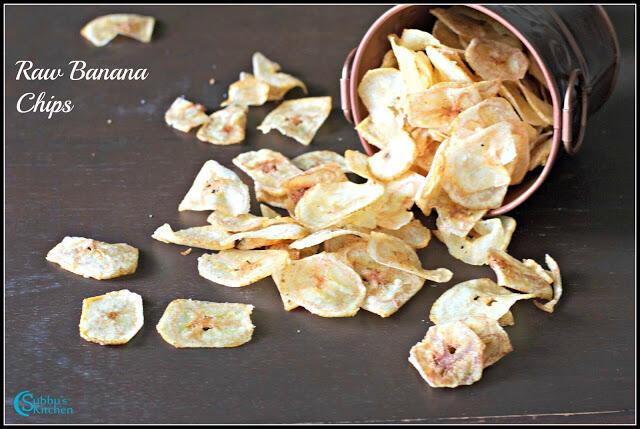 Raw Banana Chips Recipe | Vazhakkai Chips Recipe