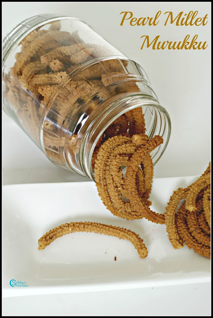 Kambu Murukku Recipe | Pearl Millet Murukku Recipe