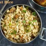 Peanut Rice | Verkadalai Sadham
