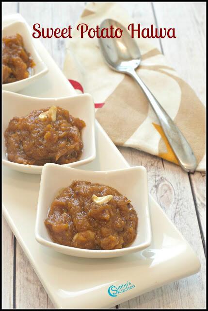 Sweet Potato Halwa Recipe | Sakkaraivellikizhangu Halwa Recipe
