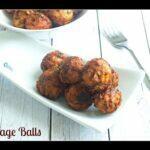 Cabbage Balls Recipe   Crispy Cabbage Dumplings