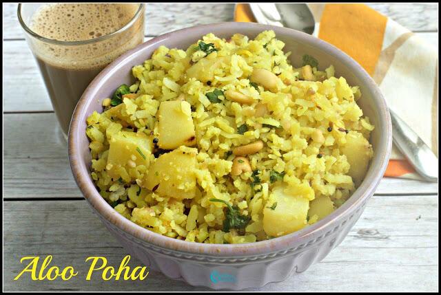 Aloo Poha Recipe | Batata Poha Recipe
