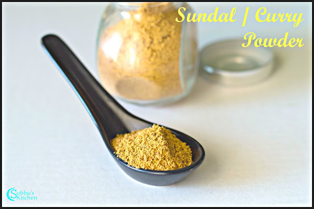 Sundal Powder / Curry Powder