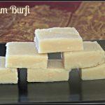 Badam Burfi | Almond burfi