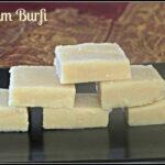 Badam Burfi | Almond Burfi | How to make Badam Burfi