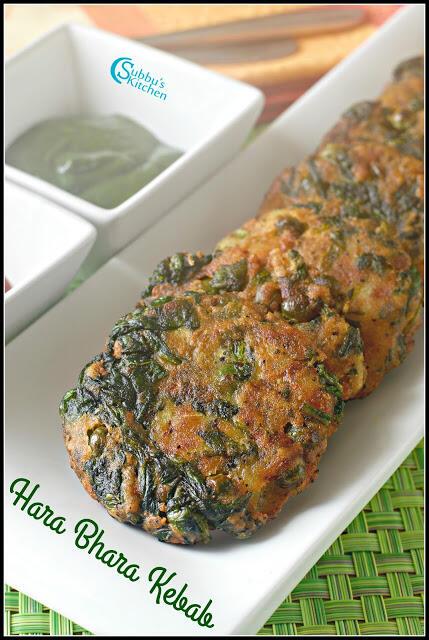 Hara Bhara Kebab Recipe   Tea Time Indian Snacks