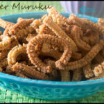 Pepper Murukku Recipe | Spicy Peppercorns Indian Snack