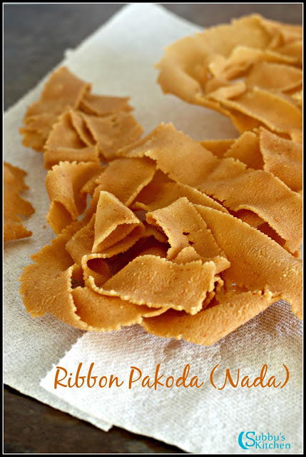 Quick Nada Murukku | Ribbon Pakoda Murukku Recipe