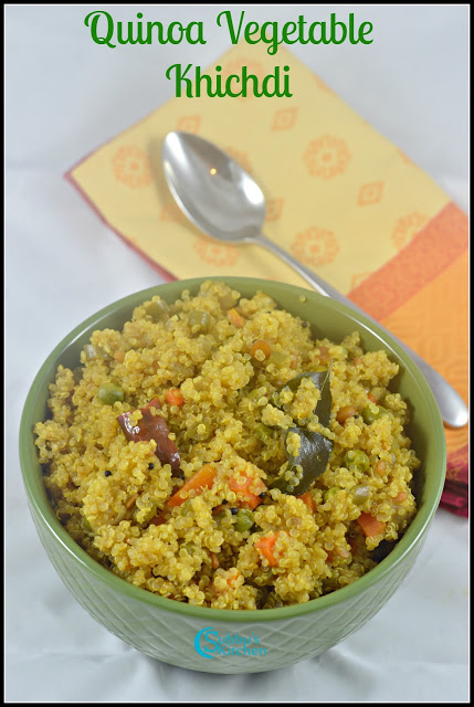 Quinoa Khichdi Recipe | Quinoa Vegetable Upma Recipe