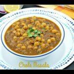 Channa Masala / Chole Masala / Kondai Kadalai Masala