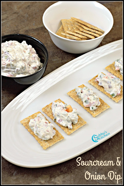 Sour Cream and Onion Dip Recipe