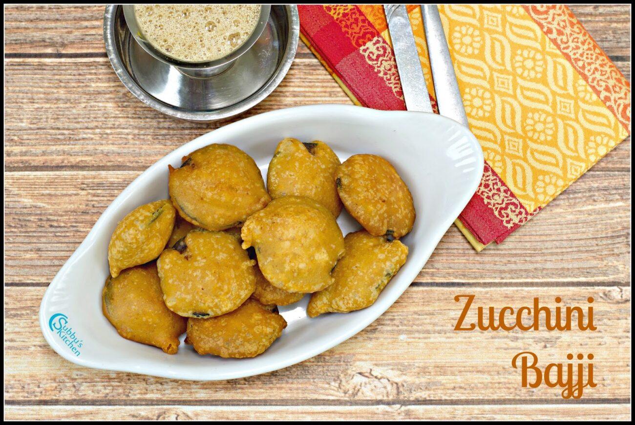 Zucchini Bajji