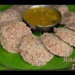 Ragi Idli Recipe | Finger Millet Idli Recipe