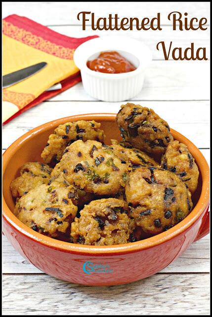 Aval Vadai | Flattened Rice Vada | Poha Vada