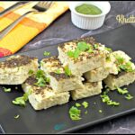 Instant Khatta Dhokla using Idli Batter Recipe