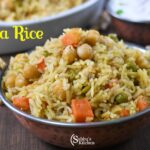 Chickpeas Masala Rice | Chana Masala Rice