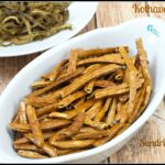 Kothavarangai Vathal | Sun Dried Cluster Beans Recipe