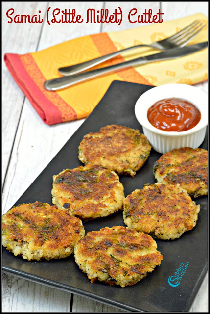 Samai Potato Tikki | Little Millet Potato Cutlet Recipe