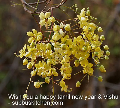 Tamil New Year(Tamizh Puthandu) / Vishu Recipes