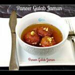 Paneer Gulab Jamun