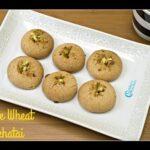 Whole Wheat NanKhatai   Nankhatai Indian Cookies