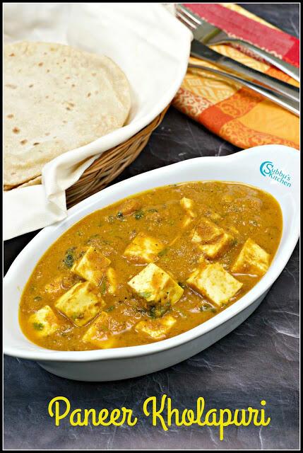 Paneer Kolhapuri | No Onion No Garlic Paneer Kolhapuri