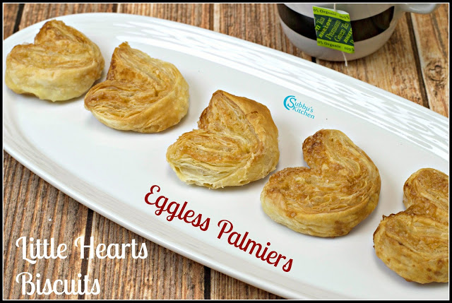 Palmiers | Little Hearts Cookies Recipe