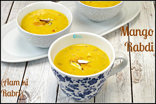 Mango Rabdi Recipe | Aam ki Rabri Recipe