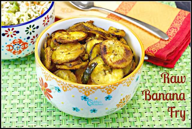 Vazhaikai Vathakal(Raw Banana vathakal) / Vazhakai poriyal