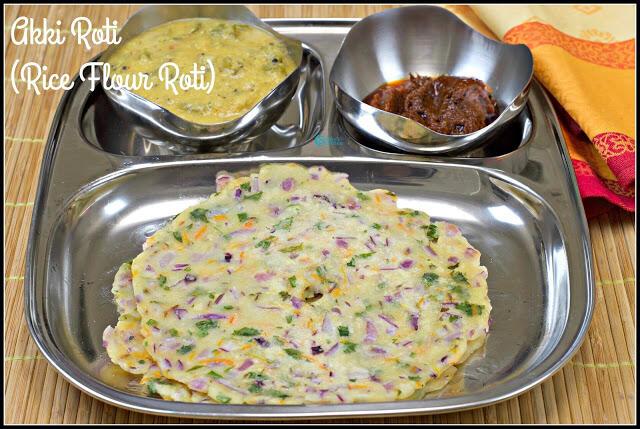 Akki Roti Recipe   Rice Flour Roti Recipe