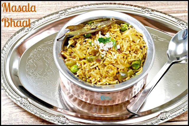 Masala Bhaat Recipe | Maharashtrian Masala Bhat Recipe