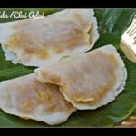 Ela Ada | Ilai Adai | Steamed Sweet Rice Parcel in Banana Leaf