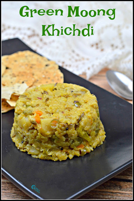 Green Moong Khichdi