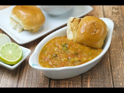 One pot pav bhaji in pressure cooker subbus kitchen pav bhaji is one of the popular indian fast food dish from maharashtrian cuisine pav bhaji is a spicy mixture of mashed vegetables along with a generous forumfinder Image collections