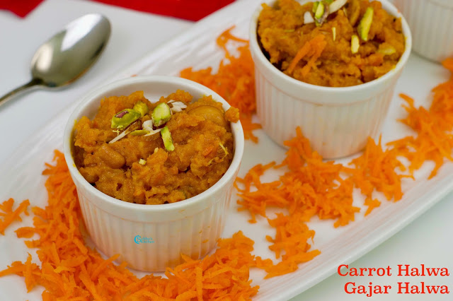 Carrot Halwa with Mawa | Gajar Ka Halwa
