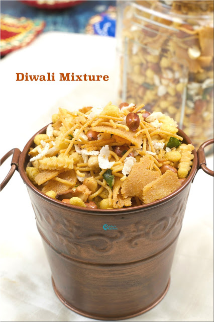 Mixture Recipe / Diwali Mixture Recipe