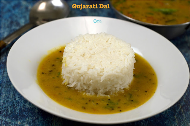 No Onion No Garlic Gujarati Dal