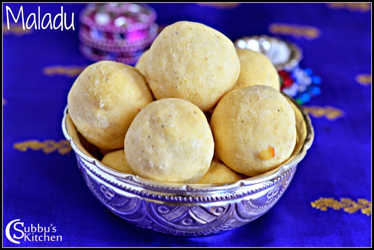 Maladu | Roasted Gram Laddu