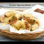 Paneer Spring Rolls