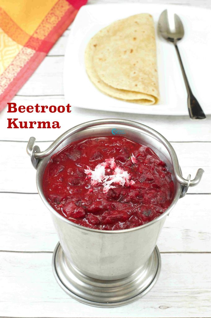Beetroot Kurma