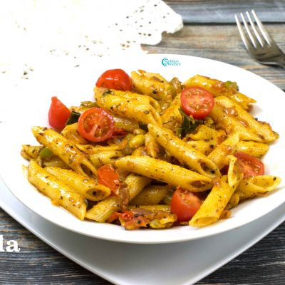 Masala Pasta Recipe | Indian Style Pasta Recipe