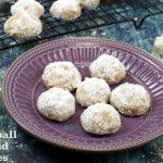Mexican Wedding Cookies | Snowball Cookies | Russian Tea Cookies