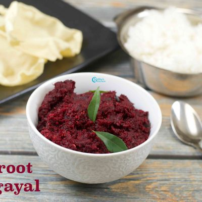 Beetroot Thogayal | Beetroot Thuvayal
