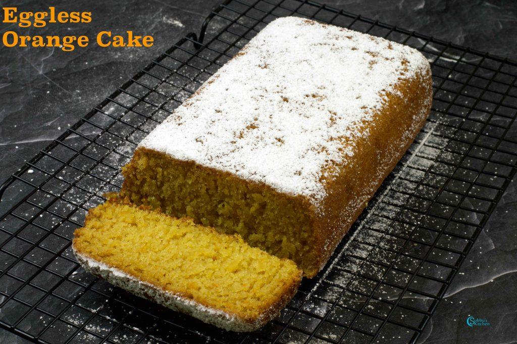 Eggless Tea Cake Recipe
