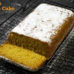 Eggless Orange Cake | Orange Tea Cake