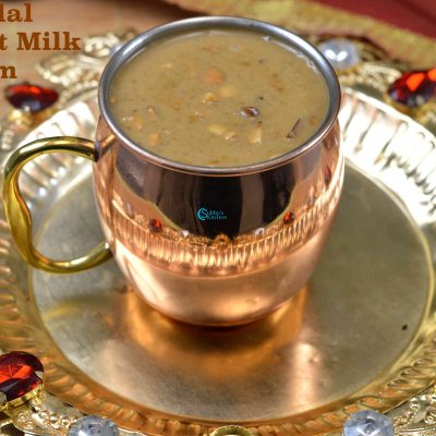 Pasi Paruppu Pradhaman | Moongdal Coconut Milk Payasam