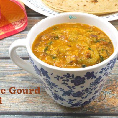 Ridge Gourd Masala | Turai Ki Sabji