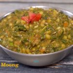 No Onion No Garlic Methi Moong Dal