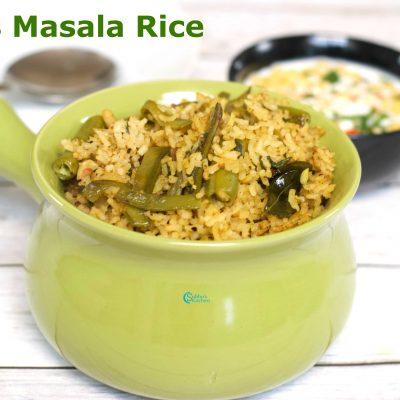 Beans Masala Rice