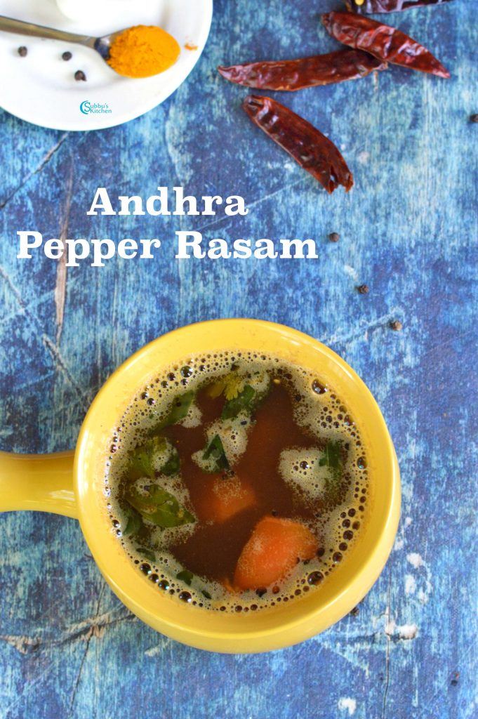 Andhra Pepper Rasam
